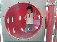 公園のトンネル