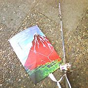 凧と釣り竿