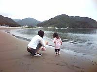 まつざき荘前の海