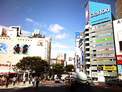 AM9:00の渋谷駅前