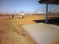 東扇島の公園