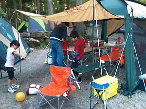 長又キャンプ場
