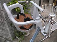 自転車の子供椅子