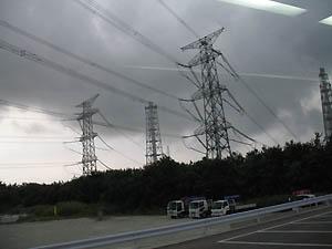 関東へいく電線