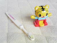 しまじろう歯ブラシ人形