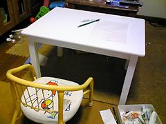 お勉強用テーブル