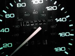 10万キロ超えた