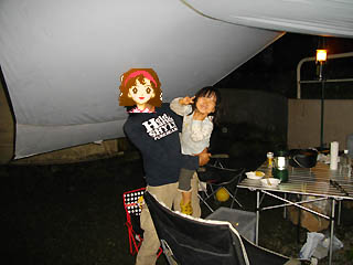 楽しいキャンプ